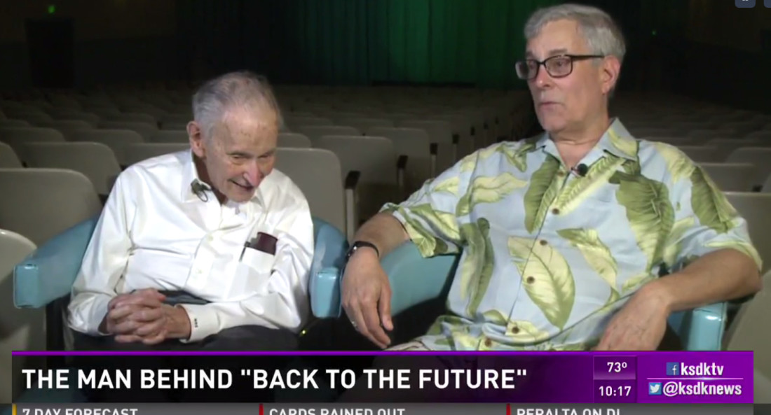 KSDK features story behind Mark Gale's 'Back to the Future' link