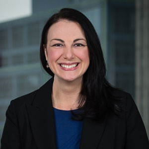Headshot of Greensfelder Business Development Director Risa McMahon