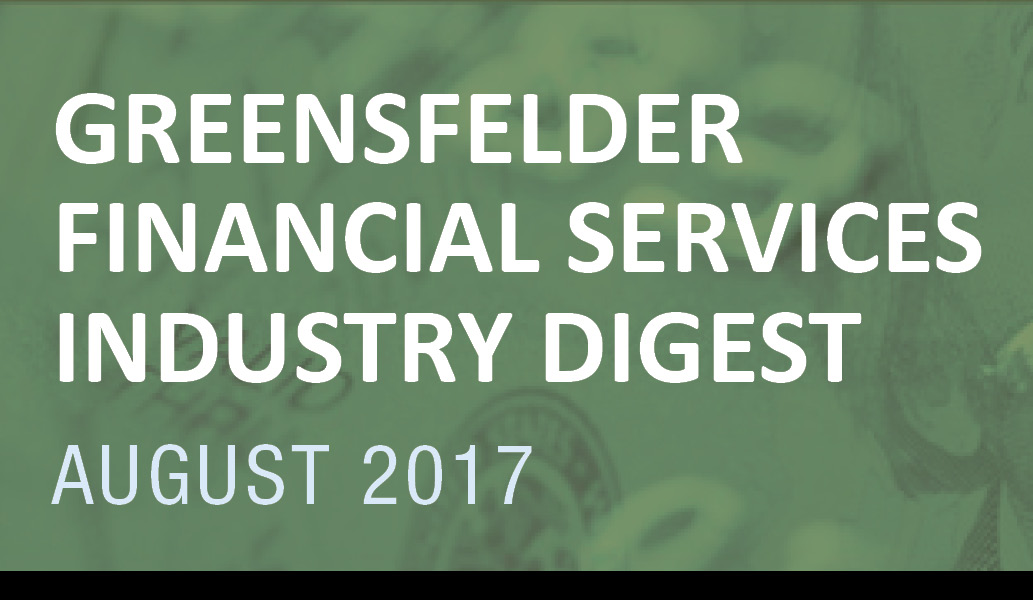 Greensfelder's Financial Services Industry Digest