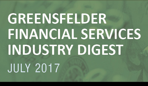 Greensfelder's Financial Services Industry Digest, July 2017
