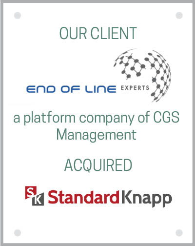 Our client EOL Packaging Experts GmbH acquired Standard-Knapp