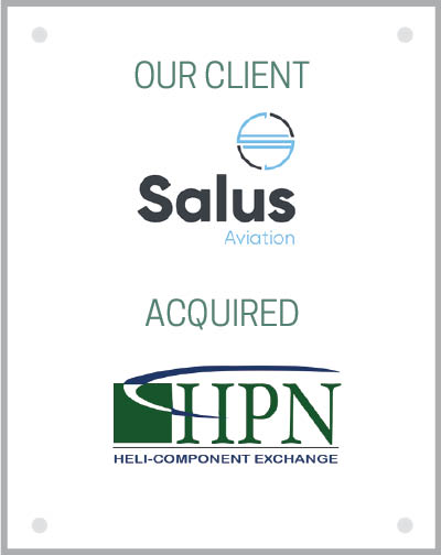 Our client Salus Aviation acquired Heli-Parts Nevada.