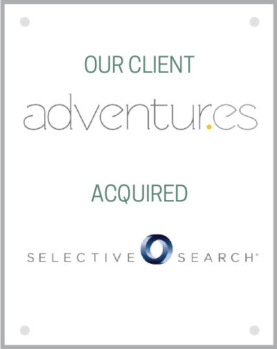 Our client Adventur.es acquired Selective Search.