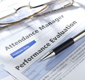Performance Evaluation Attendance Paperwork