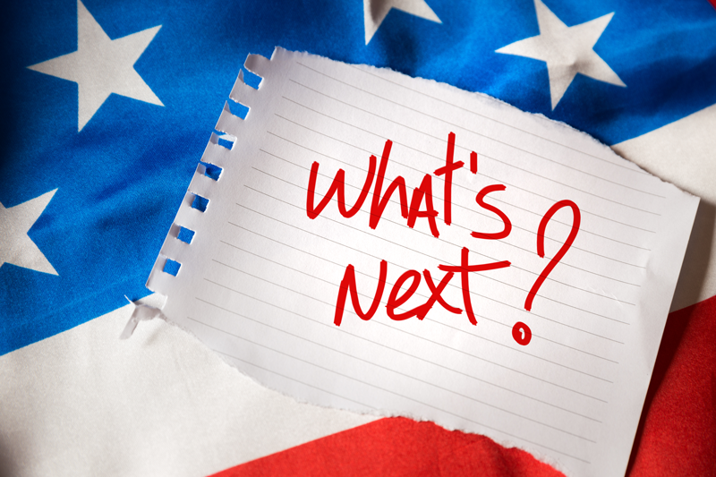 "Image of the words ""What's next?"" written on a piece of paper"