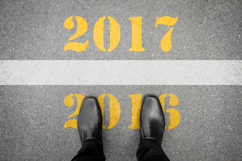 Business shoes moving from 2016 to 2017
