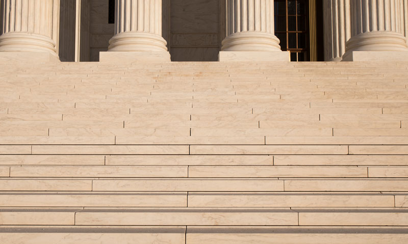 Steps of the U.S. Supreme Court