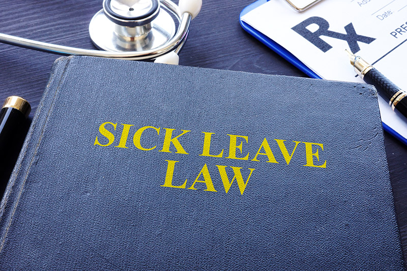 Sick Leave Law book