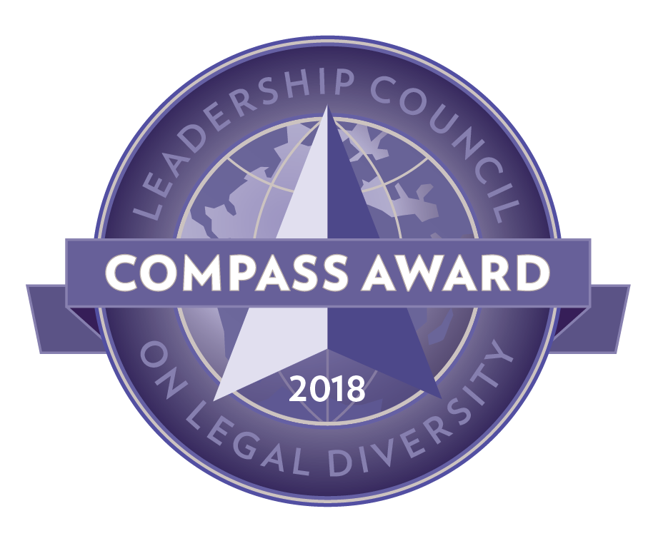 Leadership Council on Legal Diversity 2018 Compass Award